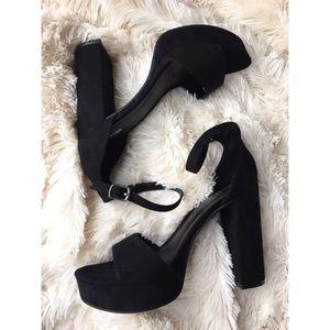 da08a2294d Mossimo Supply Co. Shoes - Mossimo Fabiola Black Platform Heels NWOT size  8.5